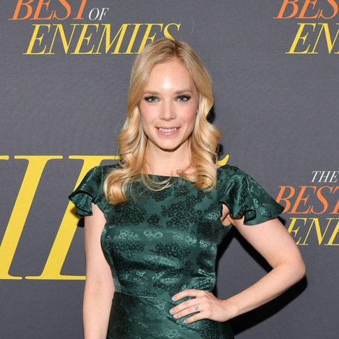 Caitlin Mehner attends The Best of Enemies premiere
