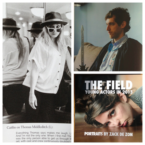 Caitlin Mehner featured in The Field with Thomas Middleditch