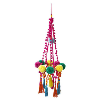 Boho-Pom-Pom-Chandelier-Party-Decoration