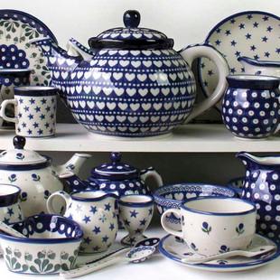 Polish Pottery from Artyfarty Designs.jp
