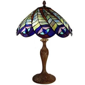 peacock-sway-tiffany-umbrella-table-lamp