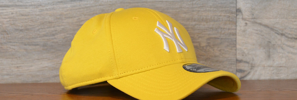 Cappellino NewEra 9FORTY Jersey pack 9400 New York Yankees yellow/white