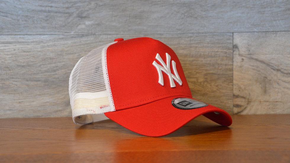 Cappellino NewEra Trucker 2 New York Yankees Red