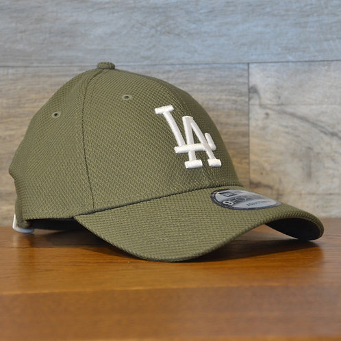 Cappellino NewEra 9FORTY Diamond Era essential Los Angeles Dodgers Green