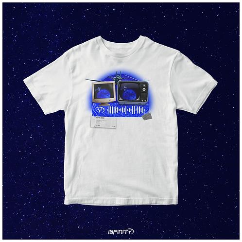 T-shirt interattiva Luna Blu