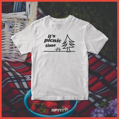 T-shirt 100% cotone International Picnic Day