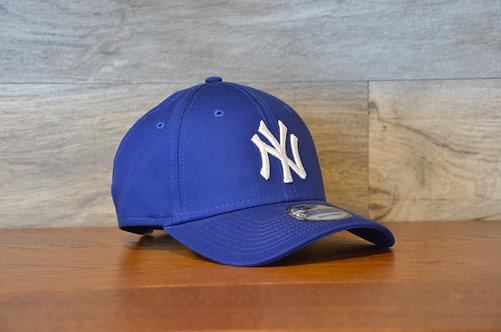 Cappellino NewEra 9FORTY 940 basic New York Yankees blue/white