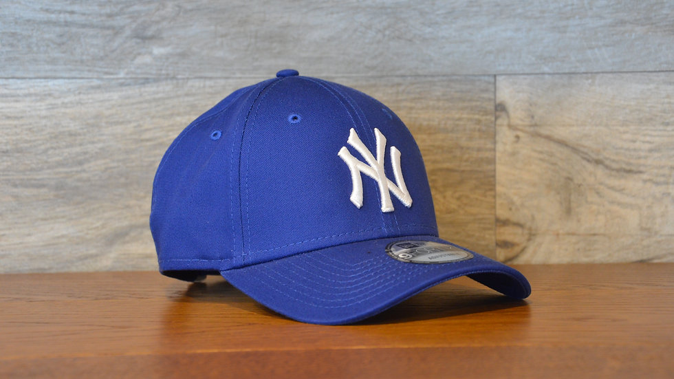 Cappellino NewEra 9FORTY 940 basic New York Yankees blue/white