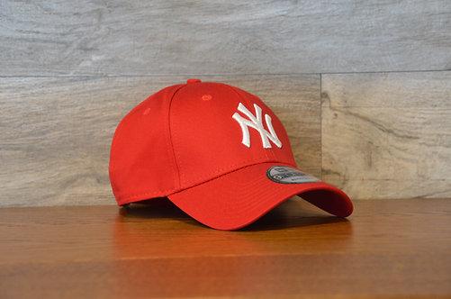 Cappellino NewEra 9FORTY 940 basic New York Yankees RED