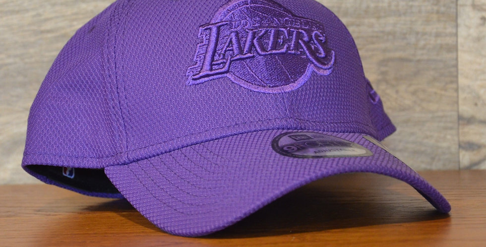 Cappellino NewEra 9FORTY Mono Team Colour Los Angeles Lakers