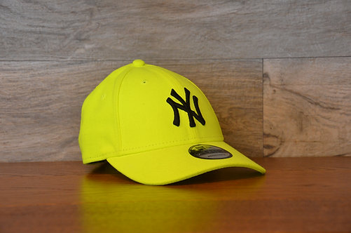 Cappellino NewEra Neon 9FORTY 940 basic New York Yankees Yellow Neon