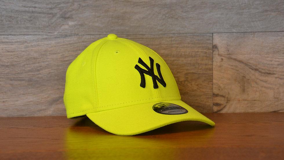 Cappellino NewEra Neon 9FORTY 940 basic New York Yankees Yellow Neon