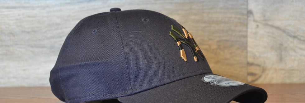 Cappellino NewEra 9FORTY 940 camo New York Yankees black/camo green