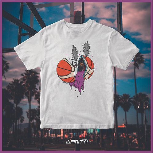 T-shirt 100% cotone Basketball grime