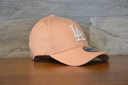 Cappellino NewEra 9FORTY 940 essential Los Angeles Dodgers Pink