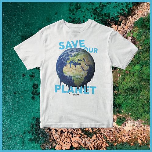T-shirt 100% cotone World Environment Day (5/06)
