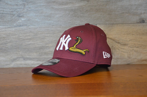 Cappellino NewEra 9FORTY Mens Twine New York Yankees Snake