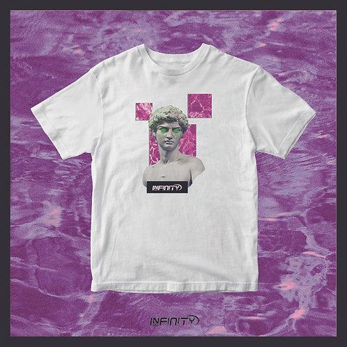 T-shirt 100% cotone David di Michelangelo