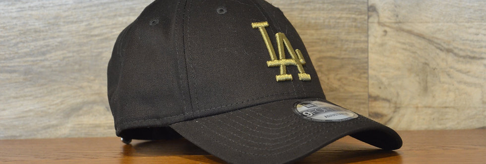 Cappellino NewEra 9FORTY 940 essential Los Angeles Dodgers Black