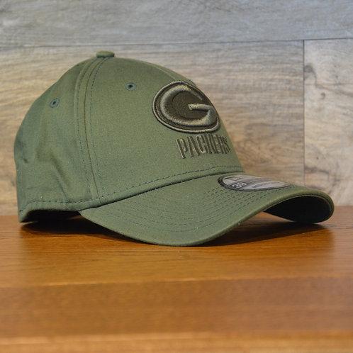 Cappellino NewEra 39THIRTY Team Tonal Green Bay Packers
