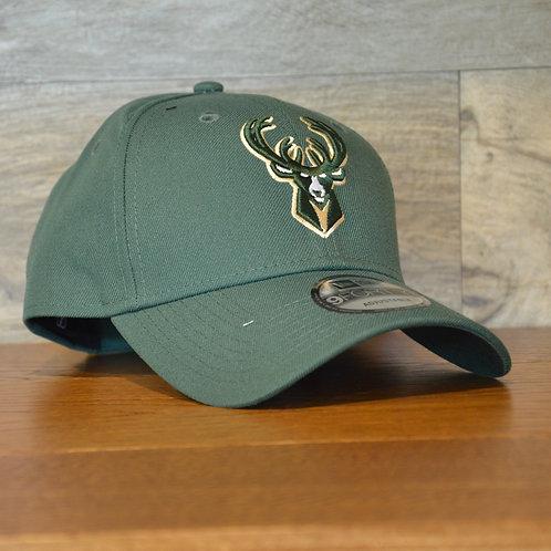 Cappellino NewEra 9FORTY The League Milwaukee Bucks