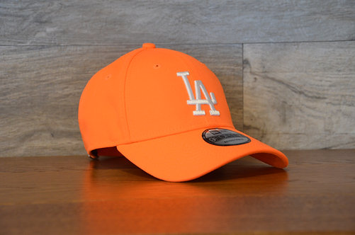Cappellino NewEra Neon 9FORTY 940 basic Los Angeles Dodgers Orange