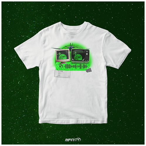 T-shirt interattattiva Luna Verde