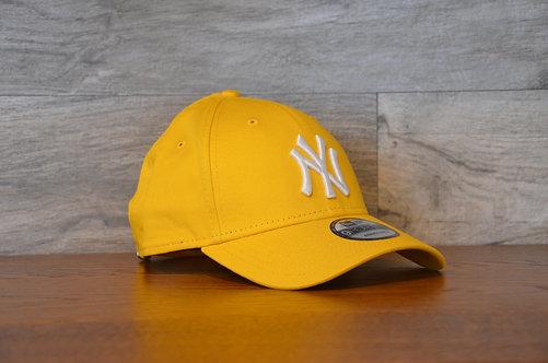 Cappellino NewEra 9FORTY 940 essential New York Yankees yellow/white