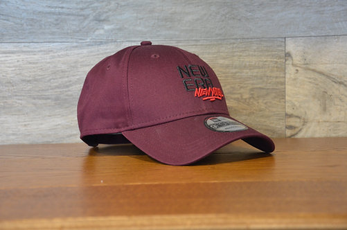 Cappellino NewEra 9FORTY NE New York Red