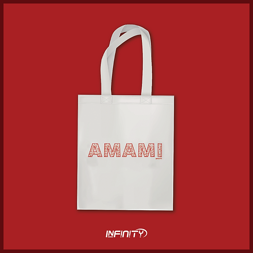 "Shopper 100% cotone ""AMAMI"""