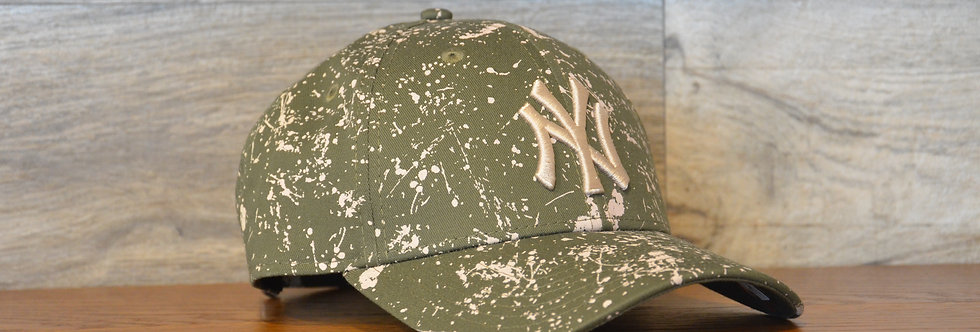 Cappellino NewEra 9FORTY Paint pack mens New York Yankees Green
