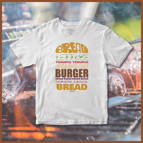 T-shirt  Hamburger Day (28/05) bianca