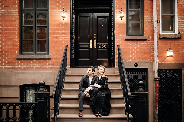 New York City Engagement shoot in the West Village