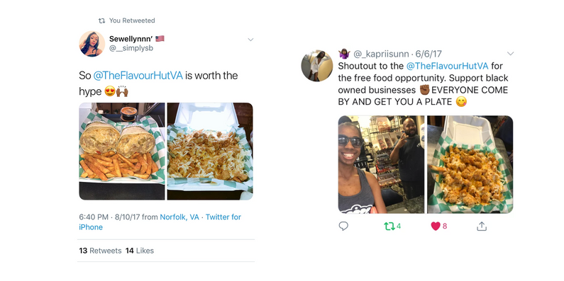 In order to drive the resturant's brand awareness, we established brand influencer partnerships with several Old Dominion University students with large social followings.