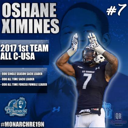 Oshane Ximines Flyer