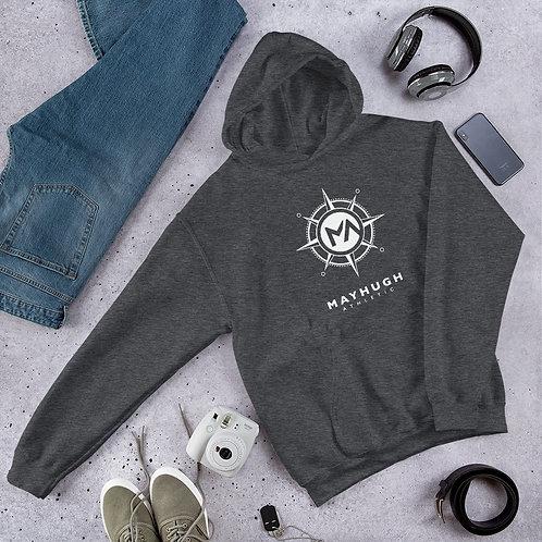 The Basic White Logo Hoody