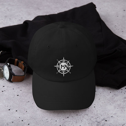 The White Logo Hat