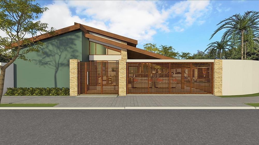 fachada casa projeto pirassununga são martinho arquiteto casa