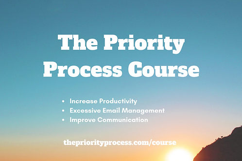 The Priority Process Course