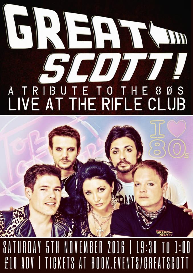 Great Scott at The Railway Rifle Club, 5th Novemeber 2016
