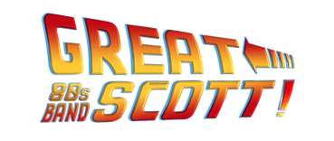 Great Scott, 80s band, 80s function band, hampshire band, london band, wedding band, 80s tribute band