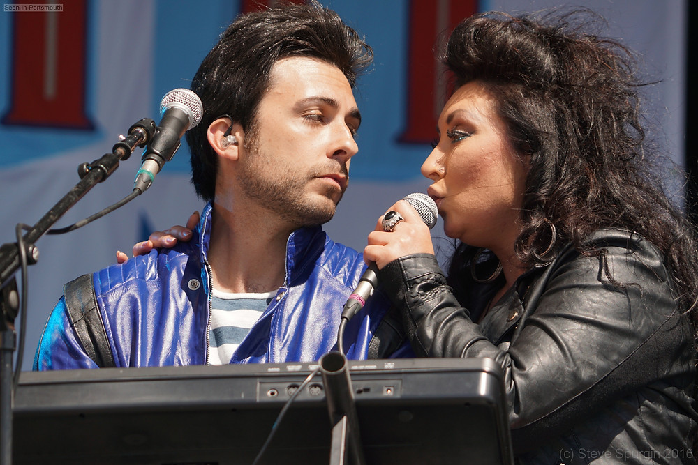 Great Scott, Portsmouth Summer Show. Ash Cutler and Rachael Hawnt