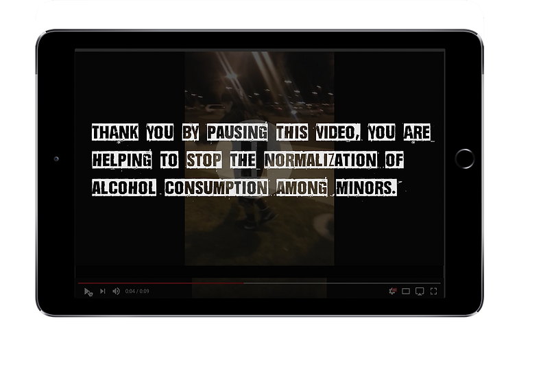 tablet pausing vide0 pause alcohol image