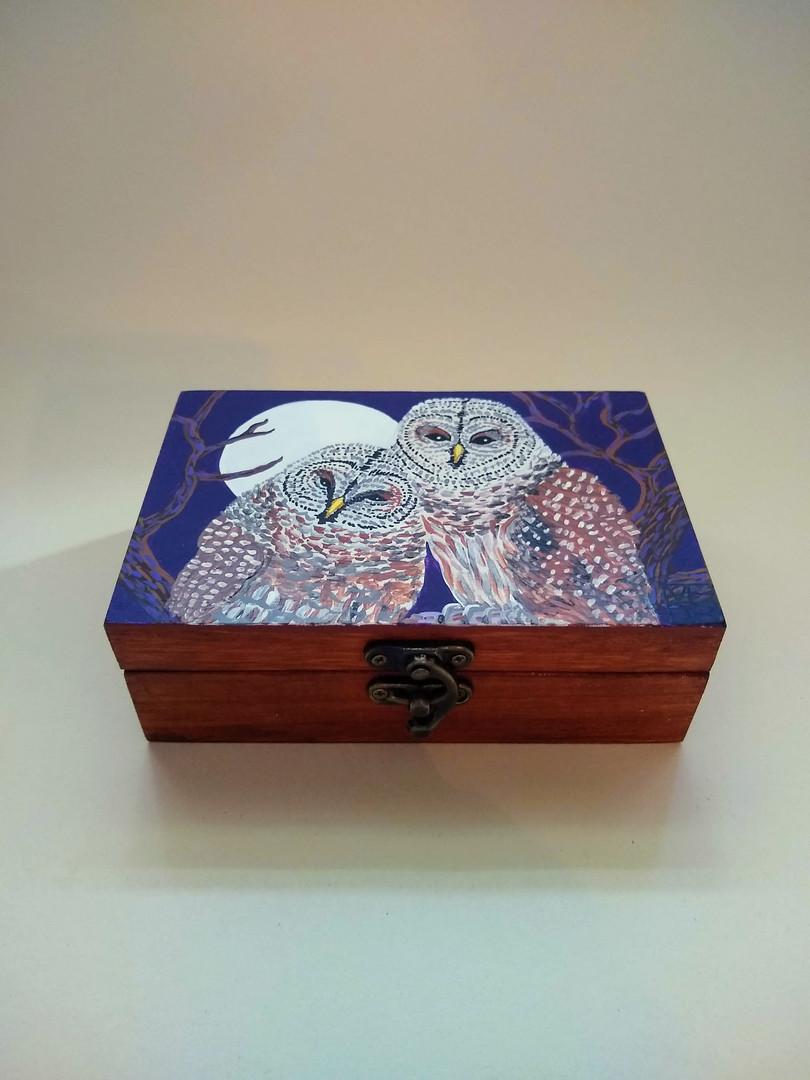 Silver Moon Owls