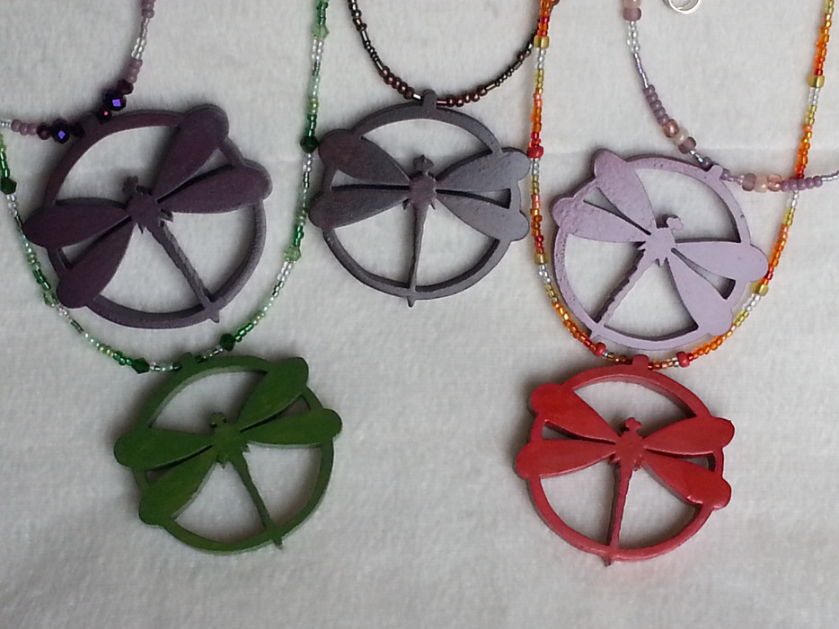 Dragonfly Pendant Necklace Sets