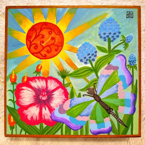 Here Comes the Sun Art Box
