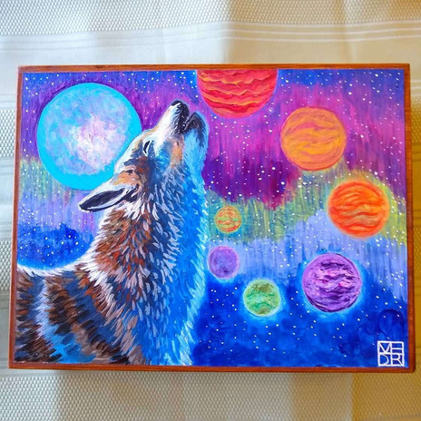 Wolf Call Through Time and Space