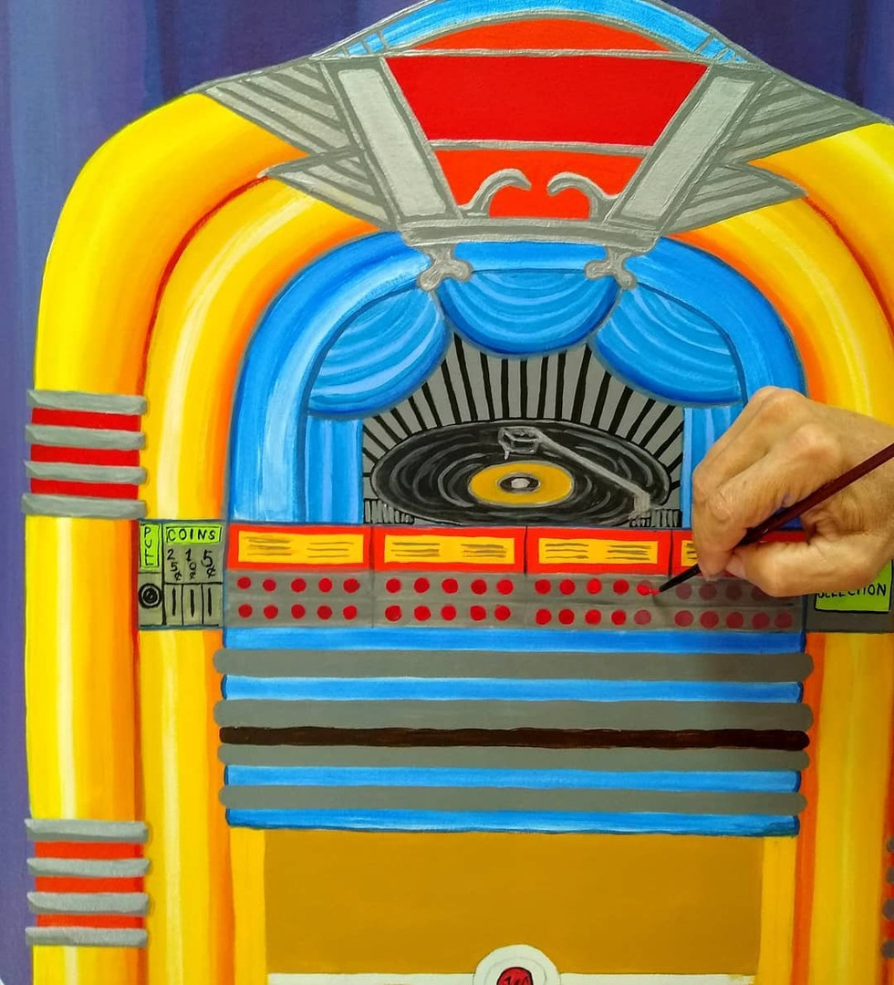 Painting the Jukebox