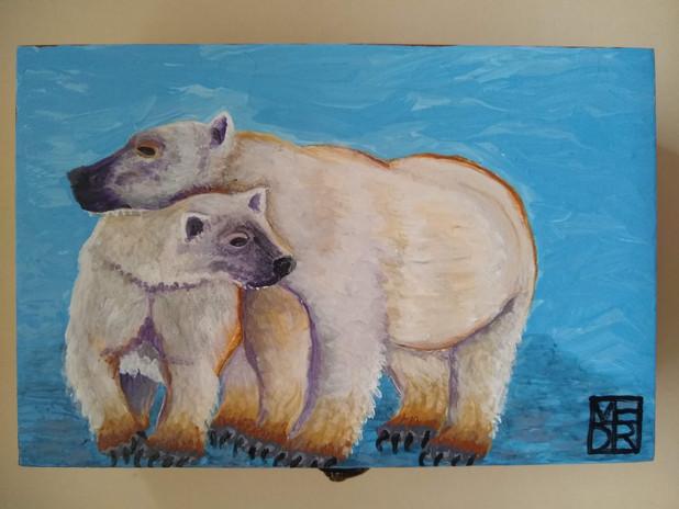 Bear Hug Art Box