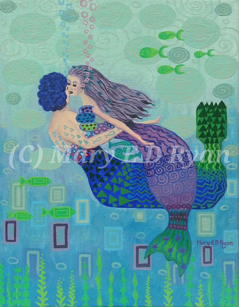 The Mermaids Kiss